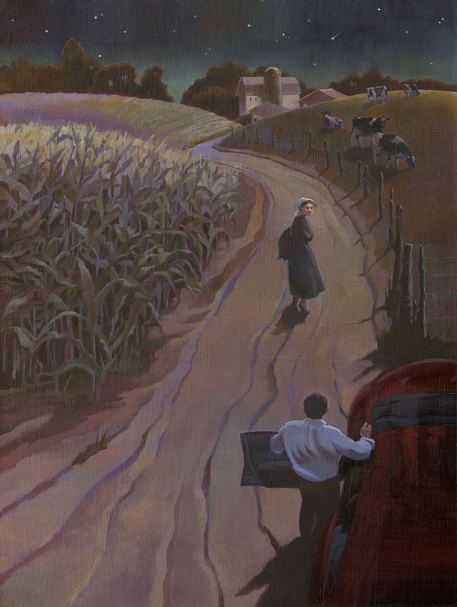 The Amish Girl by William H. Coles